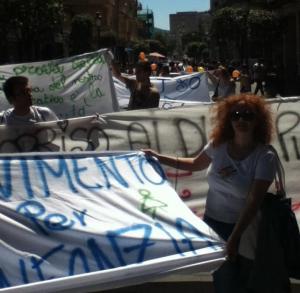Salerno: manifestazione contro la Pas